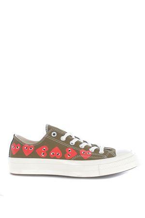 Comme des Garçons Play sneakers by Converse chuck 70 in canvas COMME des GARCONS PLAY | 5032245 | P1K117KHAKI