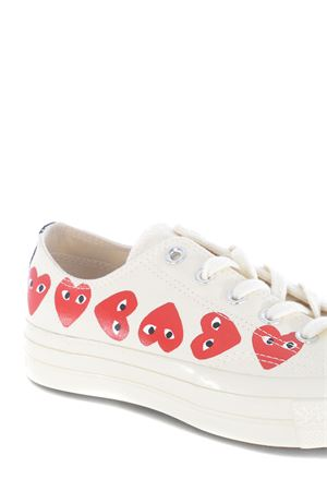 Comme des Garçons Play sneakers by Converse chuck 70 in canvas COMME des GARCONS PLAY | 5032245 | P1K117OFF WHITE