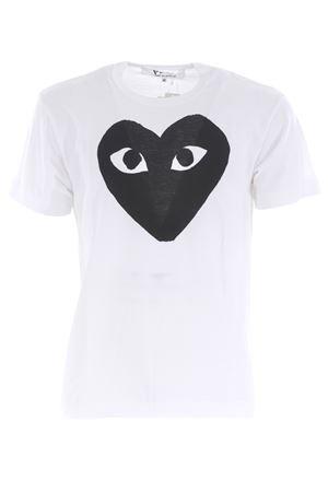 Comme des Garçons Play T-shirt in cotton COMME des GARCONS PLAY | 8 | P1T070WHITE