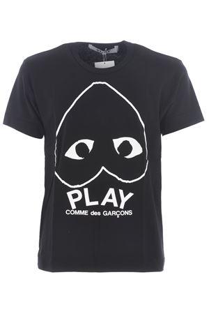 COMME des GARCONS PLAY | 8 | P1T114BLACK