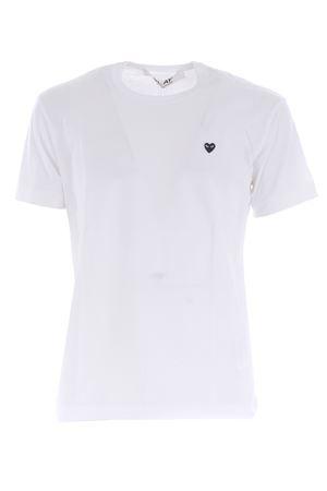 Comme des Garçons Play cotton T-shirt COMME des GARCONS PLAY | 8 | P1T202WHITE