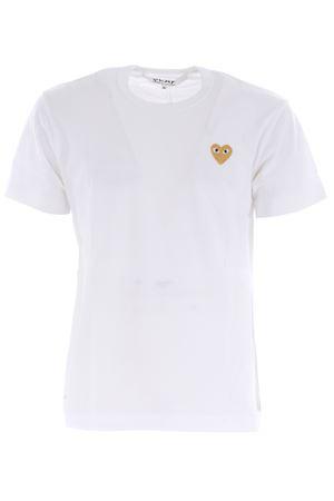 Comme des Garçons Play cotton T-shirt COMME des GARCONS PLAY | 8 | P1T216WHITE