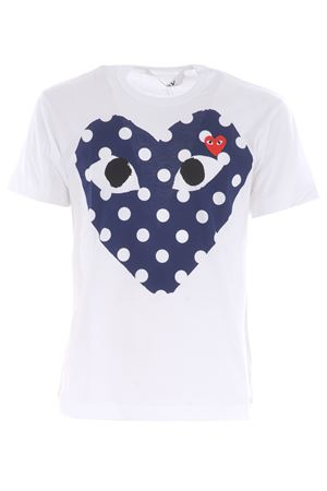 Comme des Garçons Play cotton T-shirt COMME des GARCONS PLAY | 8 | P1T234WHITE
