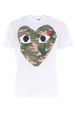 Comme des Garçons Play cotton T-shirt COMME des GARCONS PLAY | 8 | P1T242WHITE