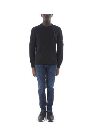 Felpa C.P. Company Diagonal Raised Fleece Asymmetric Zip C.P. COMPANY | 10000005 | 07CMSS007A5086W-999