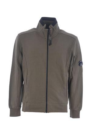 Felpa C.P. Company Diagonal Raised Fleece Lens Sleeve Zip C.P. COMPANY | 10000005 | 07CMSS081A5086W-661