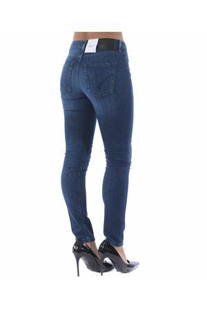 Dondup Iris jeans in super stretch stone wash denim. DONDUP | 24 | DP450DS0265W43-800