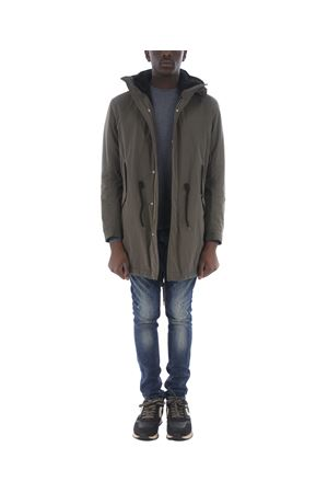 Dondup parka in technical fabric and shearling DONDUP | 10000002 | UJ664PX0047SZA-640