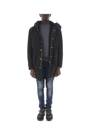 Dondup parka in technical fabric and shearling DONDUP | 10000002 | UJ664PX0047SZA-999