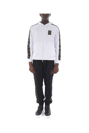 Emporio Armani sweatshirt in white cotton blend.