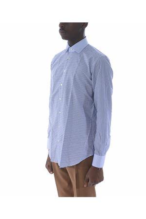 Etro shirt in white / blue cotton ETRO | 6 | 1K2133326-200