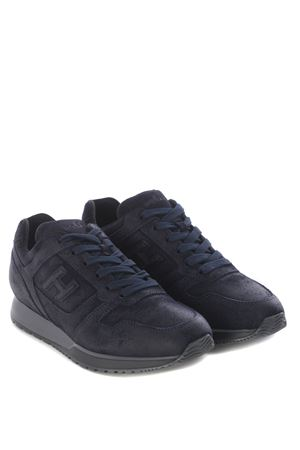 Hogan H321 sneakers in split leather HOGAN | 5032245 | HXM3210Y850HG0U801