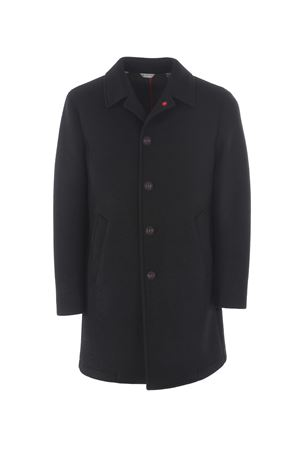 Manuel Ritz coat in wool blend with neoprene effect  MANUEL RITZ | 17 | C4518M193728-99