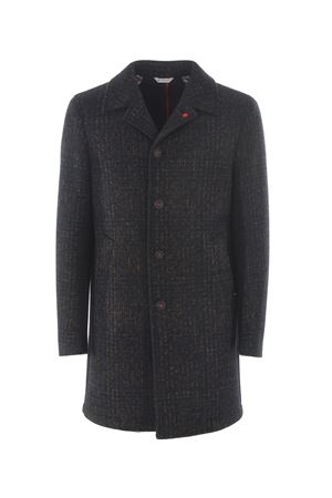 Manuel Ritz coat in wool blend with neoprene effect MANUEL RITZ | 17 | C4518M193739-39