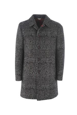 Manuel Ritz coat in wool blend with neoprene effect  MANUEL RITZ | 17 | C4518M193739-97