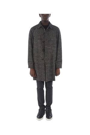 Manuel Ritz coat in wool blend with bouclè effect  MANUEL RITZ | 17 | C4568193726-99