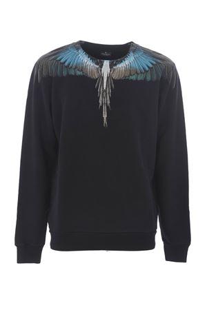 Felpa Marcelo Burlon County of Milan turquoise wings MARCELO BURLON | 10000005 | CMBA009E196300091088