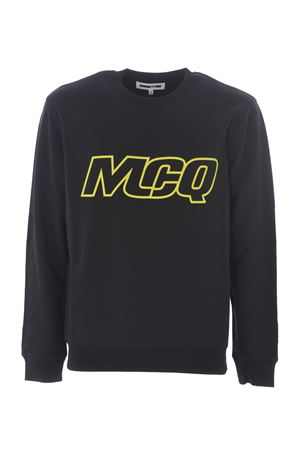 McQ Alexander McQueen sweatshirt in black cotton.