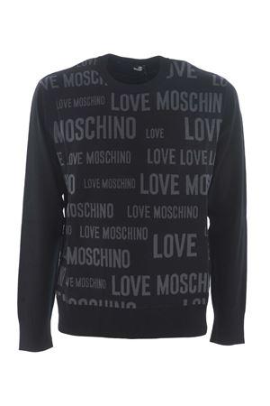 Maglia Love Moschino logo jacquard MOSCHINO LOVE | 7 | MSG6510X1201-C74