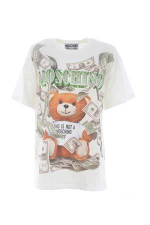 T-shirt Moschino teddy cash MOSCHINO | 8 | A07015440-1002