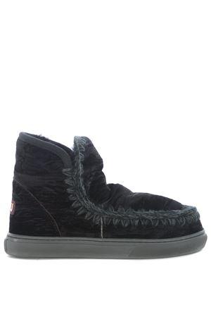 Stivaletti Mou eskimo sneaker velvet MOU | 76 | MINIESKIMO-SNEAKVELNBK