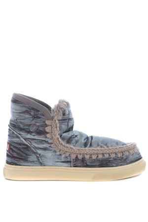 Stivaletti Mou eskimo sneaker velvet MOU | 76 | MINIESKIMO-SNEAKVELNGR
