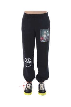 Pantaloni jogging Off White mariana de silva OFF WHITE | 9 | OMCH022E19E300051088