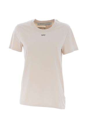 T-shirt Off White flower carryover casual OFF WHITE | 8 | OWAA049E19B070660124