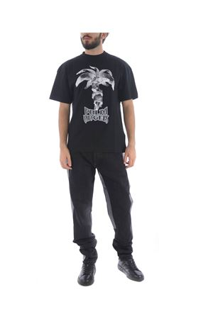 T-shirt Palm Angels logo statue PALM ANGELS | 8 | PMAA001F194130011088