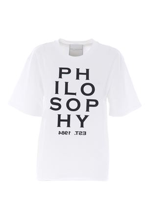 T-shirt Philosophy di Lorenzo Serafini in cotone PHILOSOPHY | 8 | A07045745-1