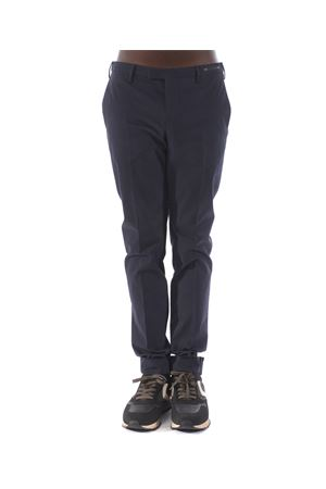 PT01 trousers in blue stretch cotton PT01 | 9 | KSZEZ10HE1TU66-0350