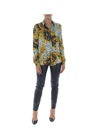 Camicia Versace Jeans Couture coccinelle e farfalle VERSACE JEANS | 6 | B0HUA603S0535-112