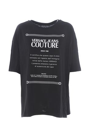 Maxi t-shirt Versace Jeans Couture VERSACE JEANS | 8 | B2HUA7BT30212-899