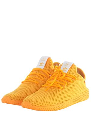 Sneakers donna Adidas Originals Pharrell Williams tennis hu ADIDAS ORIGINALS | 5032245 | CP9767DCOLLEGIATE GOLD