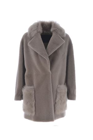 Coat BLANCHA | 17 | 17003-301SILVER-BLU