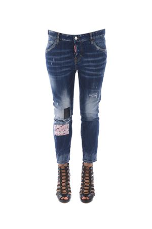 Jeans Dsquared2 cool girl cropped DSQUARED | 24 | S72LB0008S30342-470