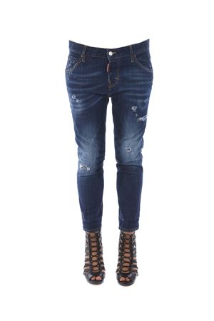 Jeans Dsquared2 cool girl cropped DSQUARED | 24 | S72LB0018S30342-470