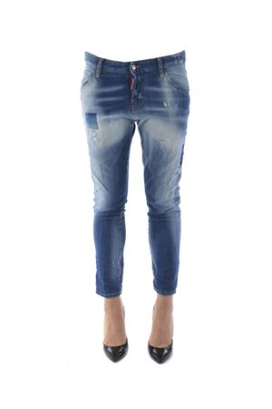 Jeans Dsquared2 cool girl cropped DSQUARED | 24 | S75LA0908S30342-470