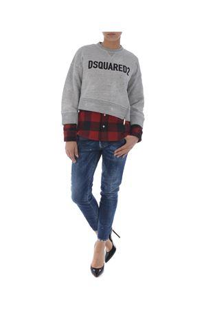 Jeans Dsquared2 medium waist cropped twiggy DSQUARED | 24 | S75LA0929S30595-470