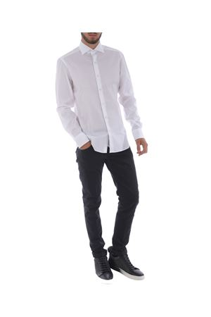 Camicia Fay in popeline stretch FAY | 6 | NCMA135262SORMB001