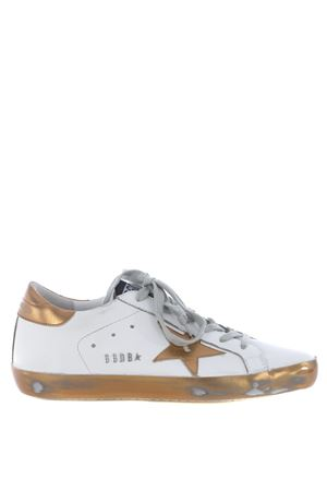 Sneakers donna Golden Goose  superstar in pelle GOLDEN GOOSE | 5032245 | G31WS590C48
