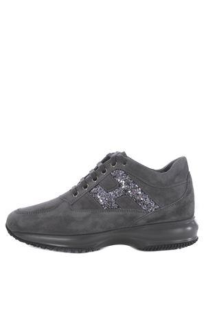 Sneakers donna Hogan interactive H glitter HOGAN | 5032245 | HXW00N0S3609KEB800