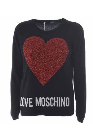 Maglia Love Moschino cuore choc MOSCHINO LOVE | 7 | WS89G01X0683-C74