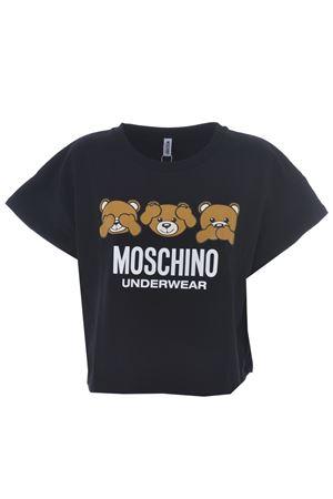T-shirt cropped Moschino Underwear MOSCHINO UNDERWEAR | 8 | 19039008-0555