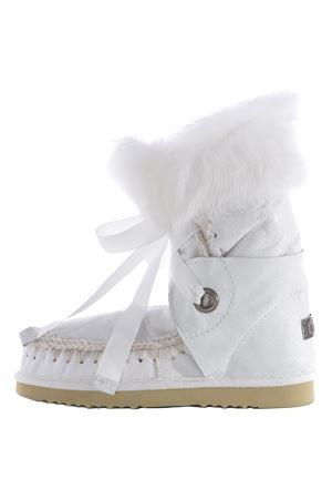 Stivali Mou eskimo lace and fur MOU   76   ESKIMO-LACE-FURWX-WHI