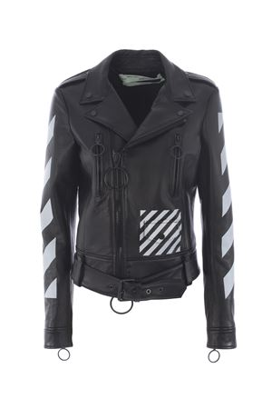 Giubbotto biker Off-White diag OFF WHITE | 13 | OWEA001E173440161001