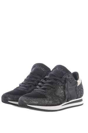 Sneakers donna Philippe Model tropez glitter PHILIPPE MODEL | 5032245 | TRLDGM20