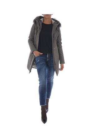 Giaccone RRD winter long lady fur RRD   13   W17501F80