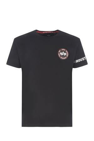 T-shirt Alpha Industries in cotone ALPHA INDUSTRIES | 8 | 12853403