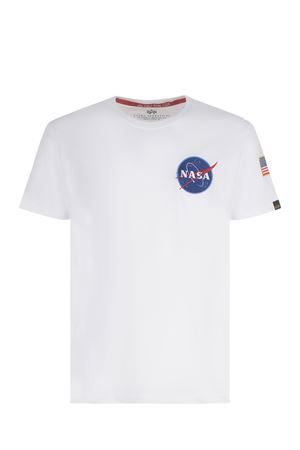 T-shirt Alpha Industries Space Shuttle in cotone ALPHA INDUSTRIES | 8 | 17650709